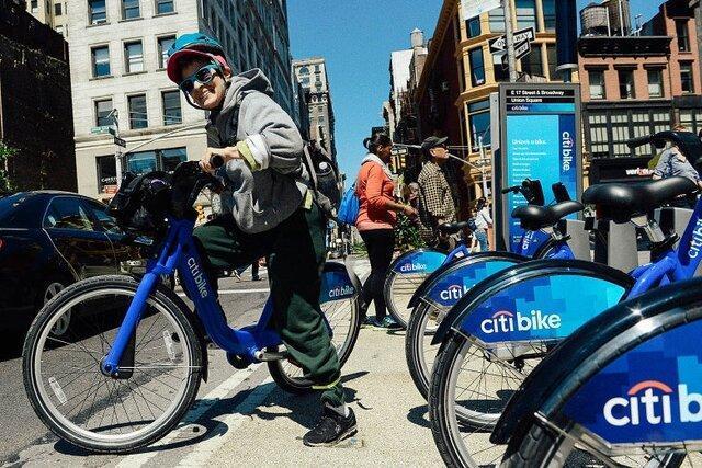 رونق دوچرخه سواری در نیویورک با شیوع کروناویروس