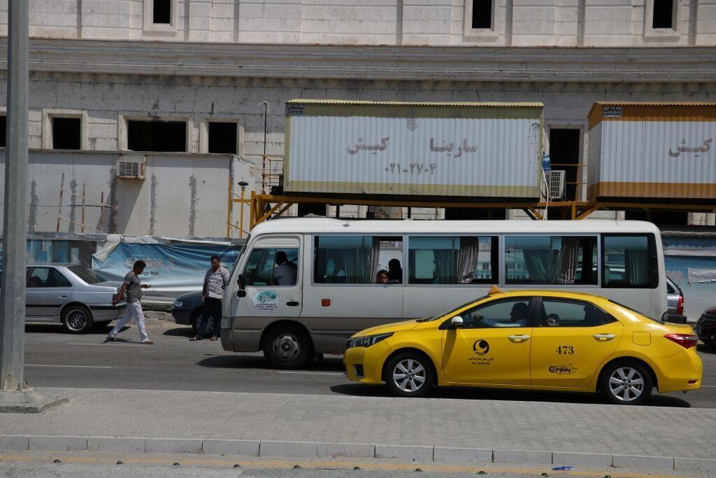 خبرنگاران اعلام نرخ جدید کرایه وسایل حمل و نقل عمومی کیش