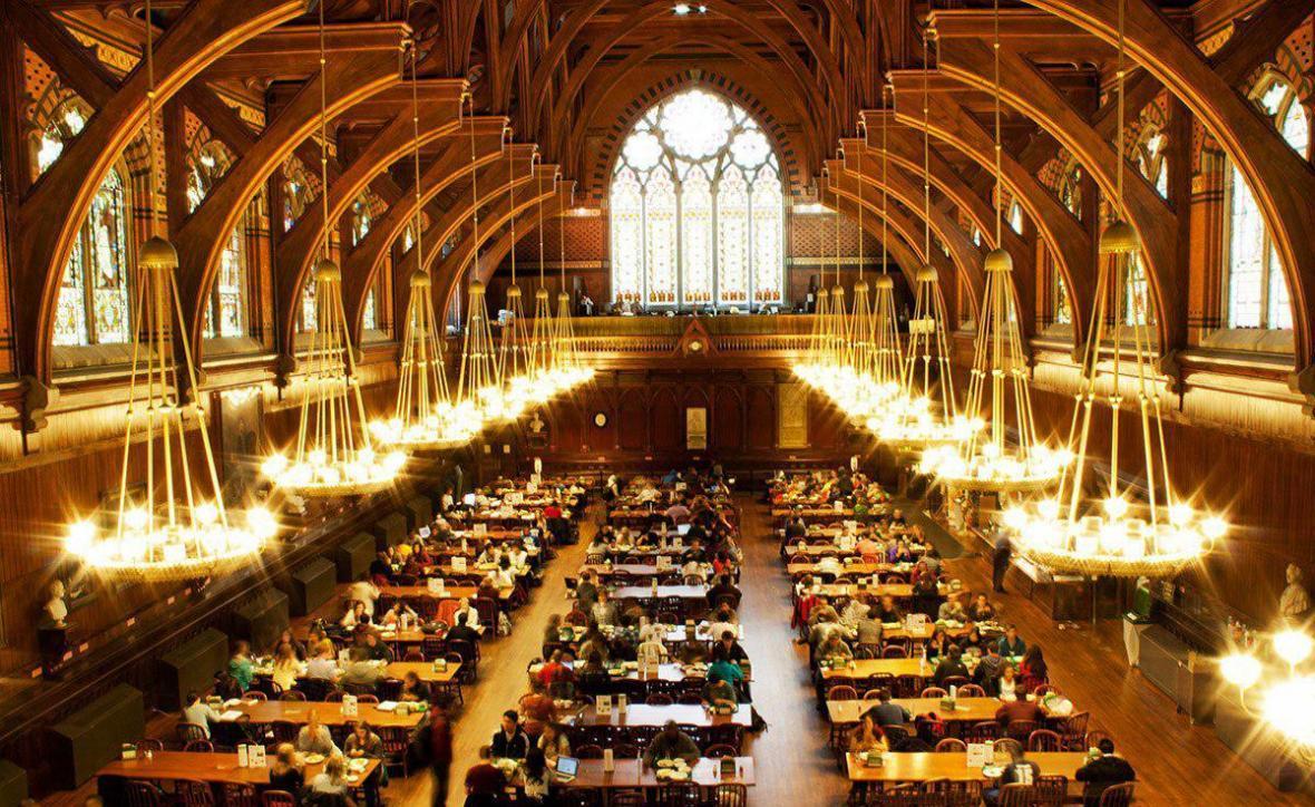 میانگین نمرات GRE هاروارد