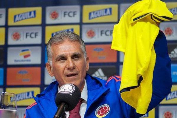 سقوط کلمبیا در فیفا هشدار است، کی روش از میراث پکرمن مراقبت نکرد