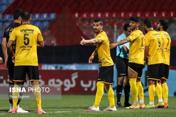 صعود سخت سپاهان به یک چهارم نهایی جام حذفی